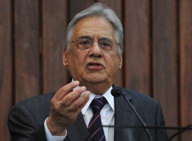 FHC diz sentir 'certo mal-estar' por não ter votado em Haddad contra Bolsonaro em 2018