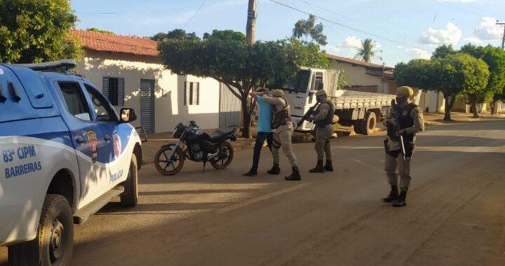 PETO/83ª CIPM intensifica policiamento nos municípios de Baianópolis e Cristópolis