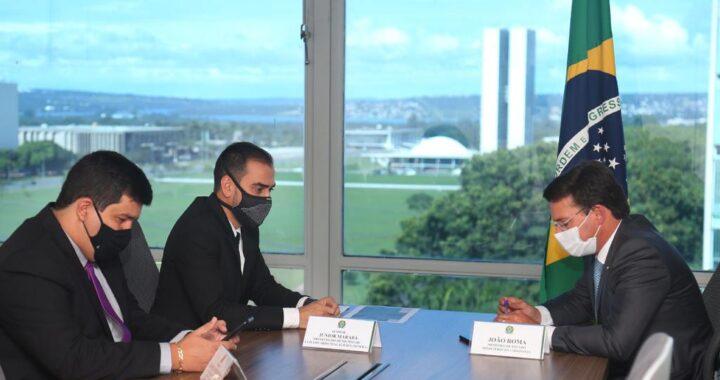 LEM: prefeito Junior Marabá cumpre agenda em Brasília