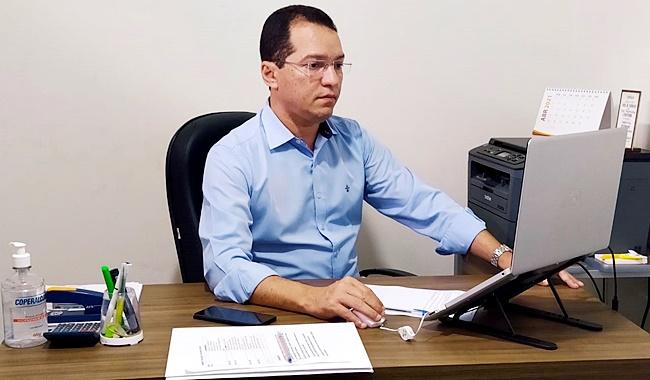 Deputado Tito participa de audiência com Secretário Nacional de Radiodifusão em defesa de novas concessões para o Oeste